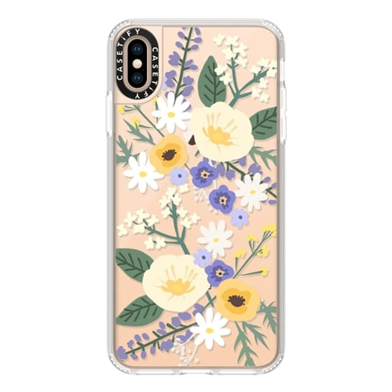 iPhone XS Max Cases - VERONICA VIOLET FLORAL MIX