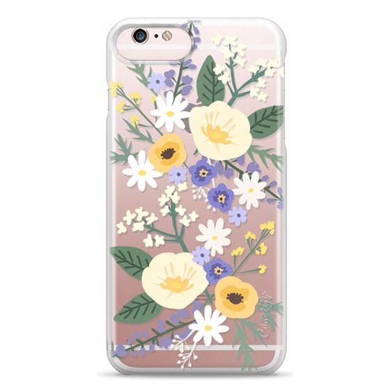 iPhone 6s Plus Cases - VERONICA VIOLET FLORAL MIX