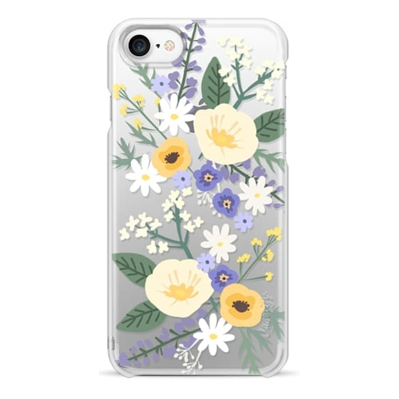 iPhone 7 Cases - VERONICA VIOLET FLORAL MIX