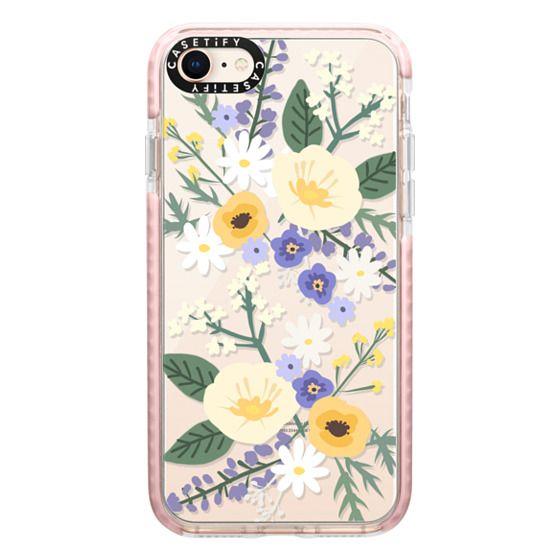 iPhone 8 Cases - VERONICA VIOLET FLORAL MIX