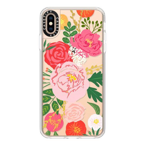 iPhone XS Max Cases - ADELINE FLORALS