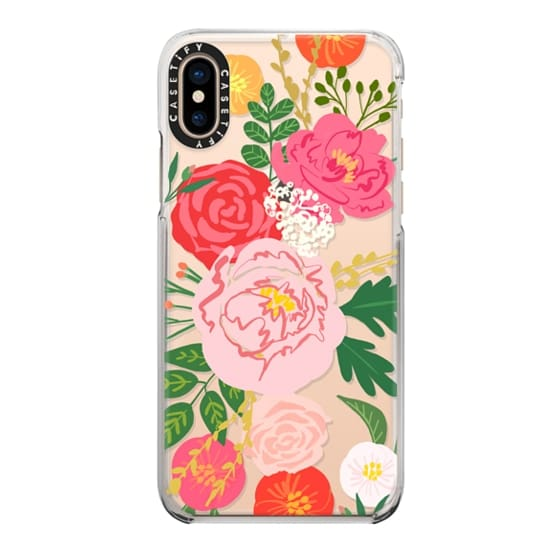 iPhone XS Cases - ADELINE FLORALS