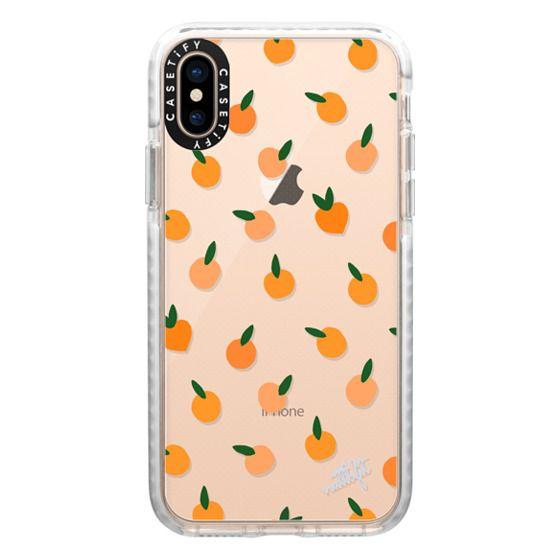 iPhone XS Cases - ORANGE YOU CUTE PHONE CASE - Nattbfit x CASETiFY