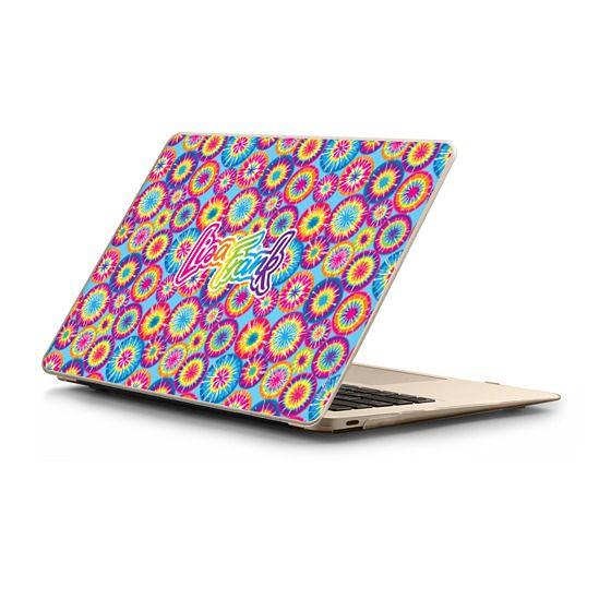 MacBook 12 Sleeves - Lisa Frank Composition Macbook Snap - Sunburst Tie-Dye