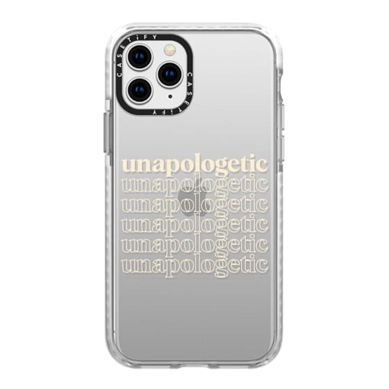 iPhone 11 Pro Cases - Unapologetic - Beige