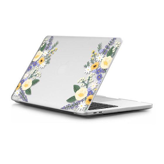 MacBook Pro Touchbar 15 Sleeves - Veronica Violets - Macbook Case