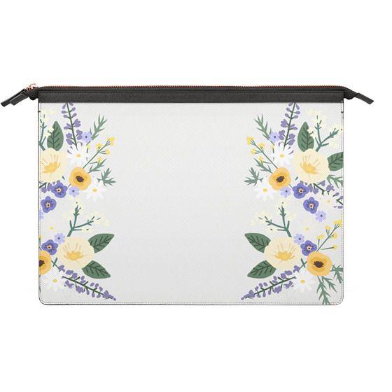 MacBook 12 Sleeves - Veronica Violets - Macbook Case