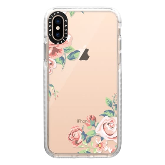 iPhone XS Cases - Spring Blossom