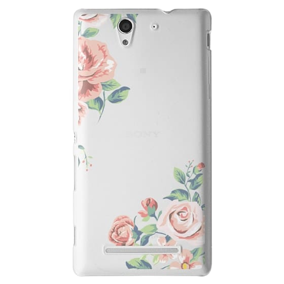 Sony C3 Cases - Spring Blossom