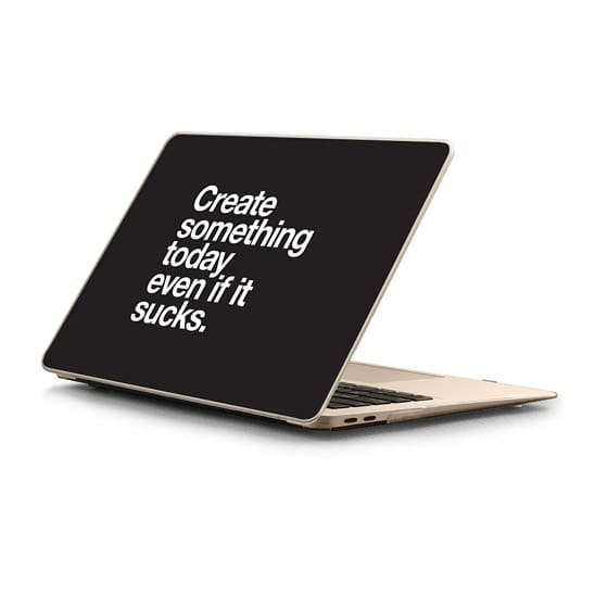 MacBook Air Retina 13 Sleeves - Create something today even if it sucks