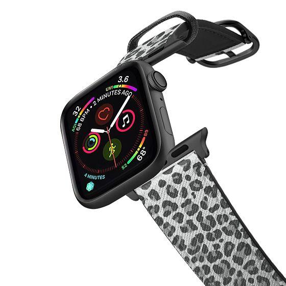 Apple Watch 38mm Bands - Gray Leopard