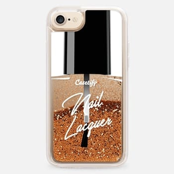 iPhone 7 Case Glitter Nail Lacquer