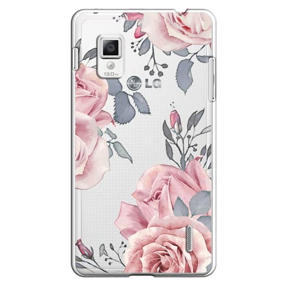 Optimus G Cases - Stop and smell the roses