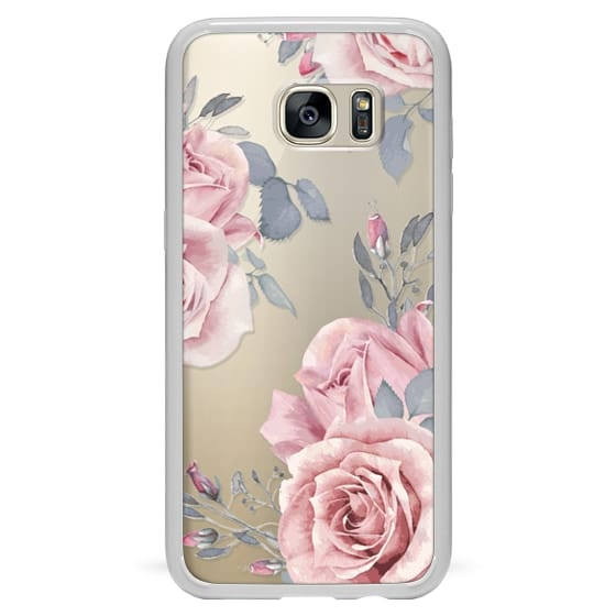 Samsung Galaxy S7 Edge Cases - Stop and smell the roses