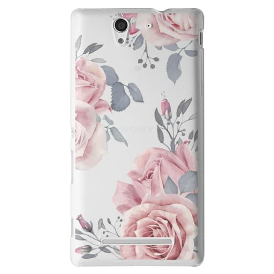 Sony C3 Cases - Stop and smell the roses