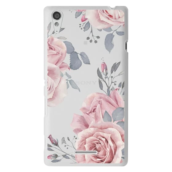 Sony T3 Cases - Stop and smell the roses