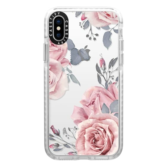 iPhone X Cases - Stop and smell the roses