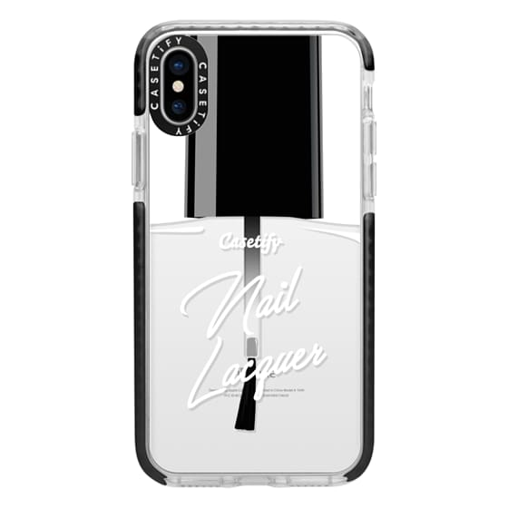 iPhone X Cases - Glitter Nail Lacquer