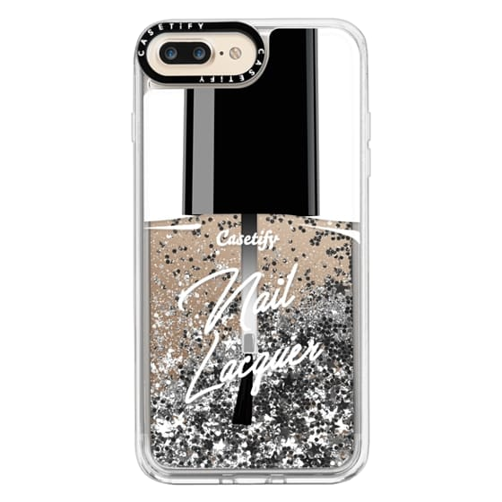iPhone 7 Plus Cases - Glitter Nail Lacquer