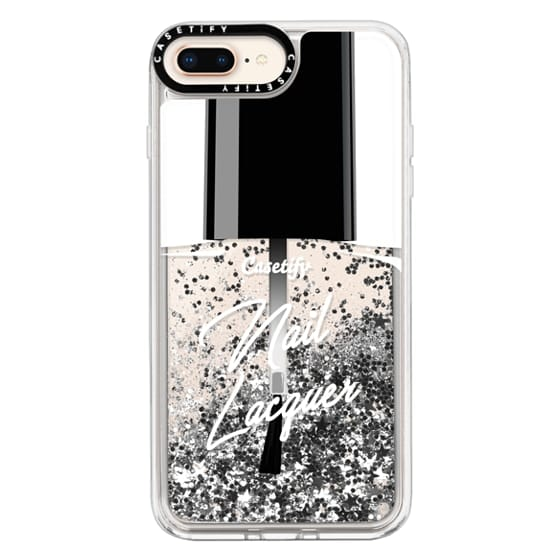iPhone 8 Plus Cases - Glitter Nail Lacquer
