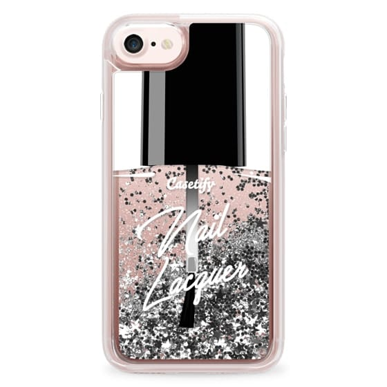 iPhone 7 Cases - Glitter Nail Lacquer