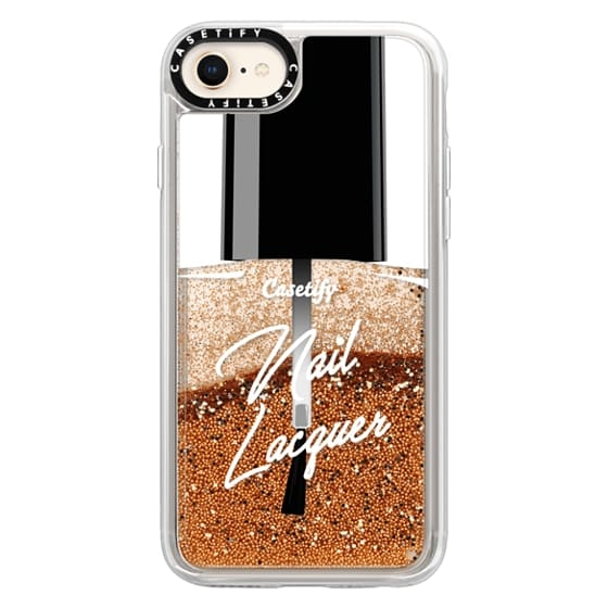 iPhone 8 Cases - Glitter Nail Lacquer