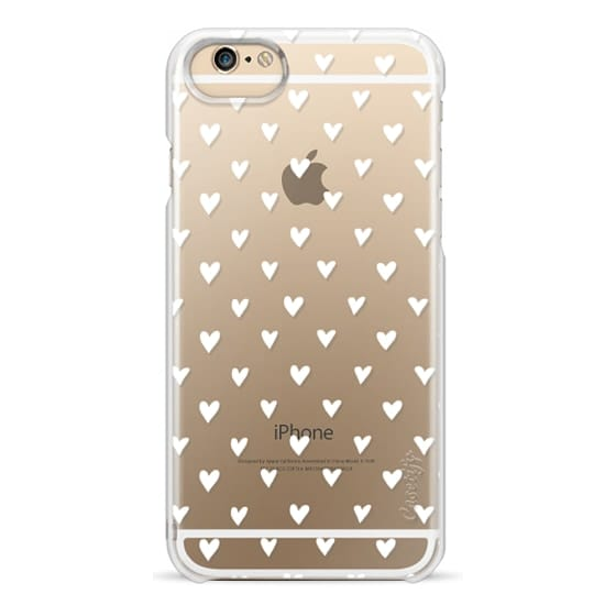 iPhone 6 Cases - Mini Heart - White