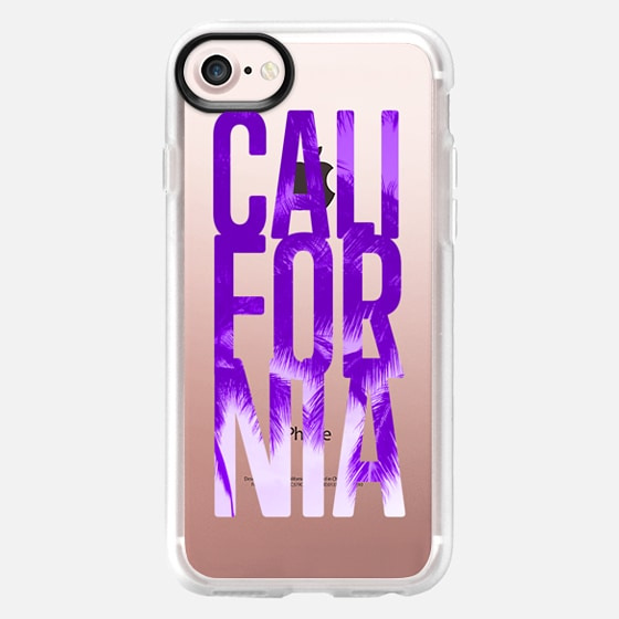 CALIFORNIA (purple) - Wallet Case