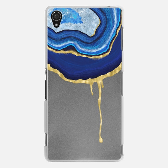 Sapphire Dripping Agate