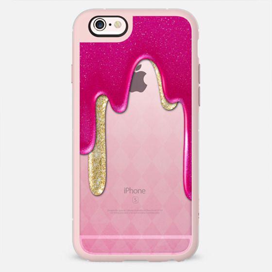 Pink Glitter Flow -