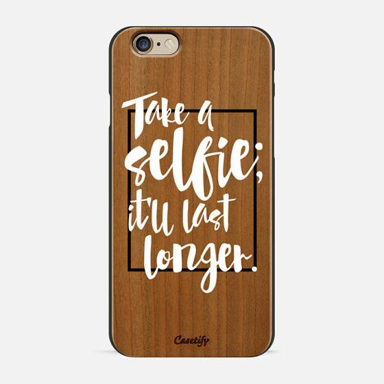 Selfie (wood) - Wood Case