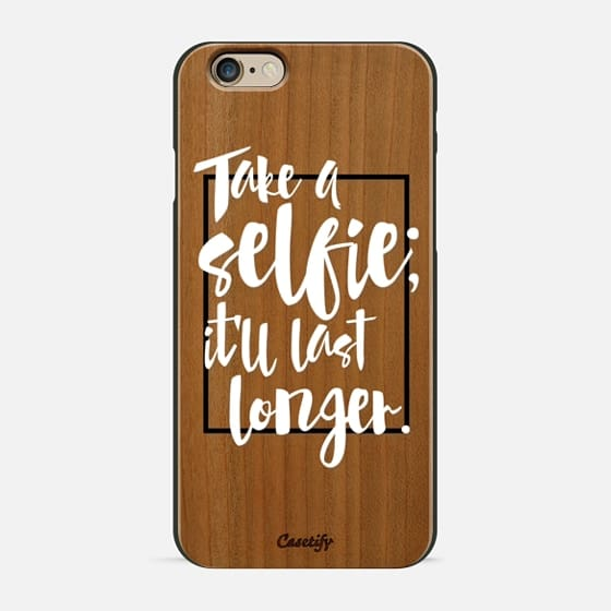 Selfie (wood) - Wood Case