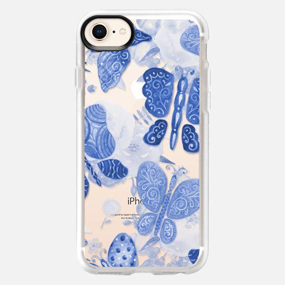 Blue Butterflies - Snap Case