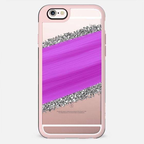 Pink Paint & Silver Glitter - New Standard Case
