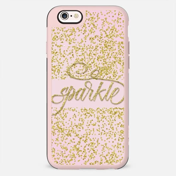 Sparkle on Pink - New Standard Case