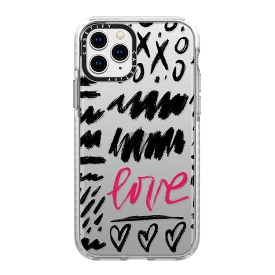 iPhone 11 Pro Cases - Love Scribbles