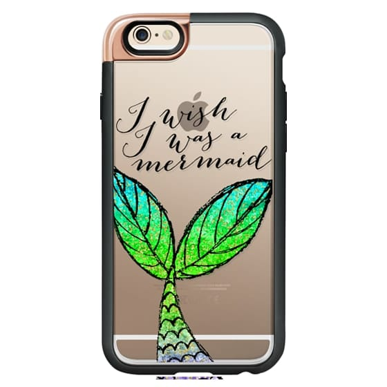 iPhone 6 Cases - I Wish I Was a Mermaid
