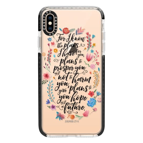 iPhone XS Max Cases - Jeremiah 29:11