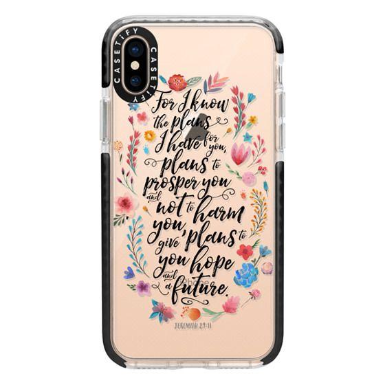 iPhone XS Cases - Jeremiah 29:11