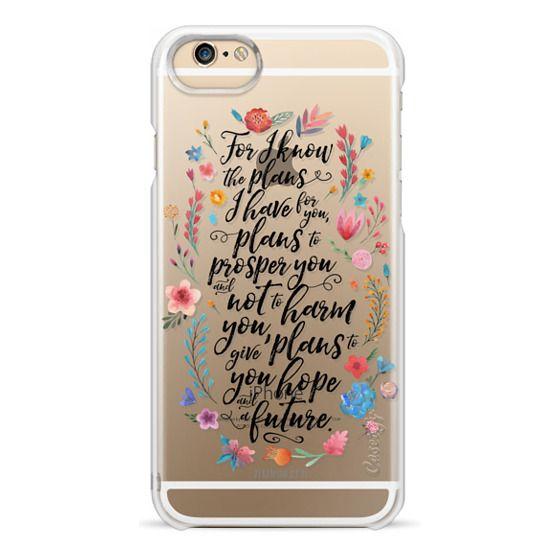 iPhone 6 Cases - Jeremiah 29:11