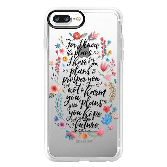 iPhone 7 Plus Cases - Jeremiah 29:11