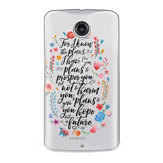 Nexus 6 Cases - Jeremiah 29:11