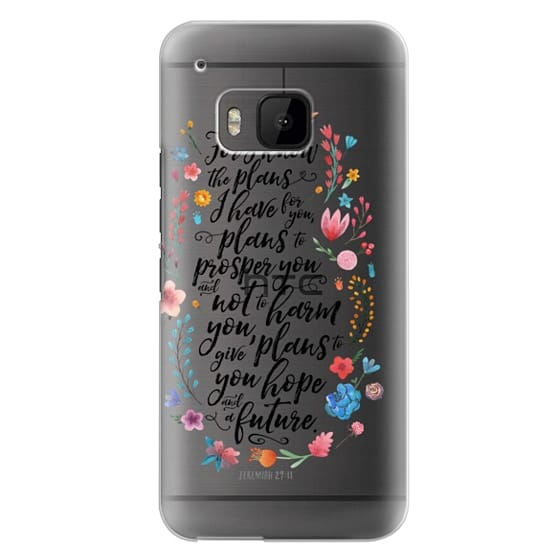 Htc One M9 Cases - Jeremiah 29:11