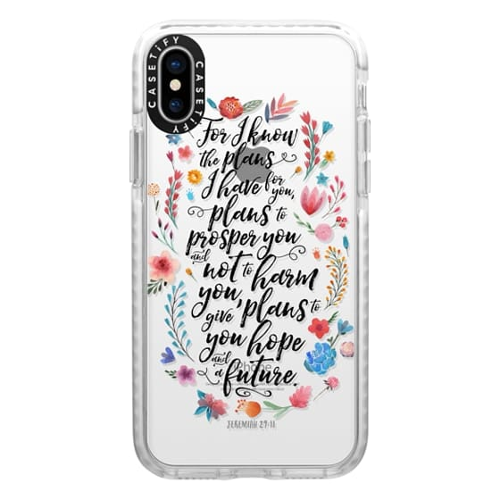 iPhone X Cases - Jeremiah 29:11