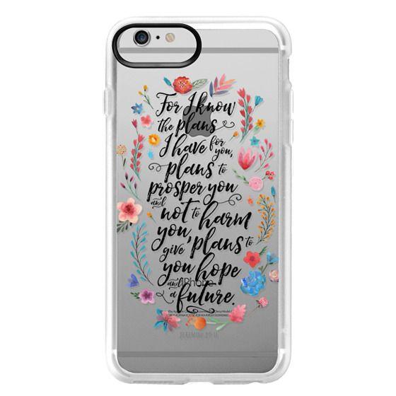 iPhone 6 Plus Cases - Jeremiah 29:11