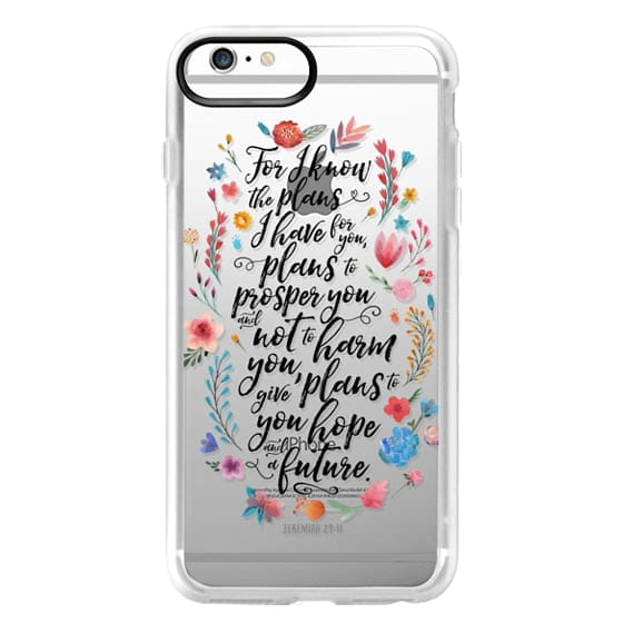 iPhone 6s Plus Cases - Jeremiah 29:11