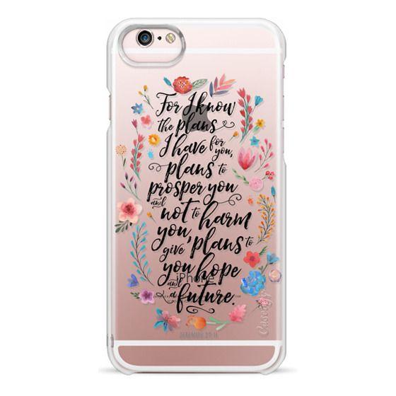 iPhone 6s Cases - Jeremiah 29:11