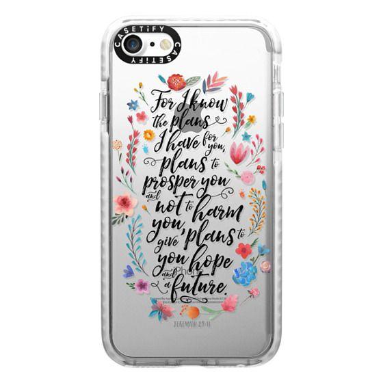 iPhone 7 Cases - Jeremiah 29:11