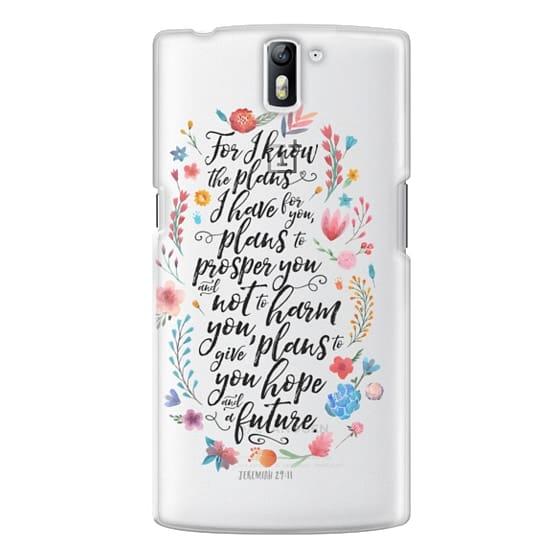 One Plus One Cases - Jeremiah 29:11