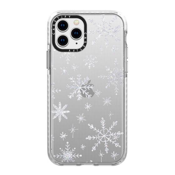 iPhone 11 Pro Cases - Snowflakes